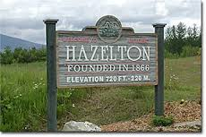 hazelton sign
