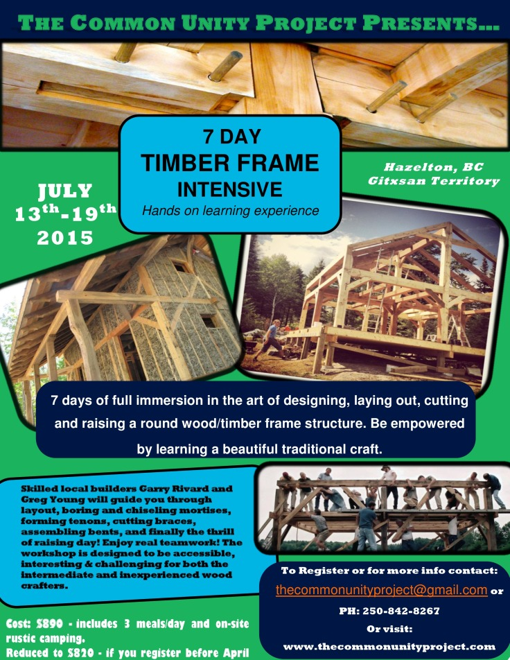 TImber Frame Course